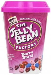 The Jelly Bean Factory Berry Burst Cup Original Jelly Bean 200g