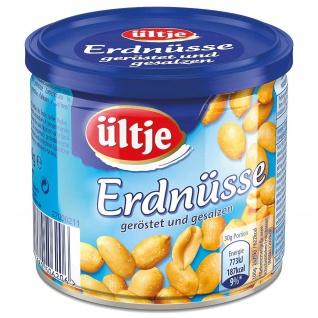 Ültje Erdnüsse gesalzen Dose Knabberspaß für die ganze Familie 200g