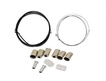 Promax Bowdenzug-Set, Kabel und Gehäuse für Bremsen aus Nirosta-Draht