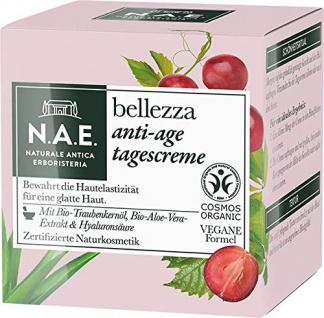 N.A.E. Bellezza Anti Age Tagescreme Vegane Formel Naturkosmetik 50ml