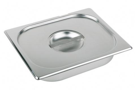 Assheuer und Pott Deckel für Gastronomie Behälter aus Edelstahl