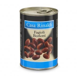 Casa Rinaldi Borlotti Bohnen in der Dose 400g, Abtropfgewicht 240g