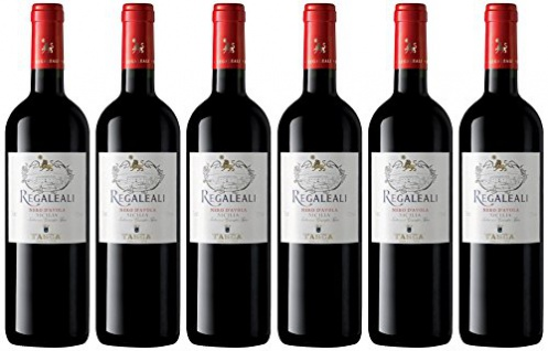 Regaleali Rosso Tasca D'Almerita trockener Rotwein fruchtig 750ml 6er Pack