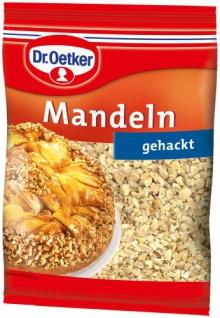 Dr. Oetker Mandeln gehackt, 5er Pack (5 x 100 g)