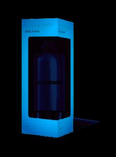 SodaStream PET Sprudlerflasche mit Edelstahlboden und Deckel 1000ml