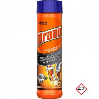 Mr. Muscle Drano Power Granulat Allzweckrohrreiniger 500g 2er Pack