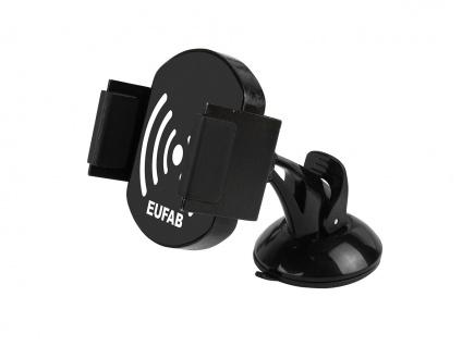 Kfz Induktions Laderset mit Handyhalter Feinstufige 360° Drehung