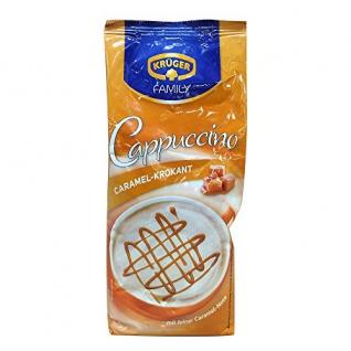 Krüger, Caramel-Krokant Cappuccino, mit feiner Caramel-Note 500g