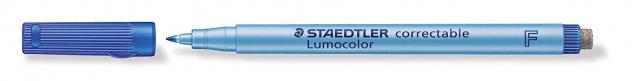 Staedtler Folienstift Lumocolor correctable 305 in Farbe Blau