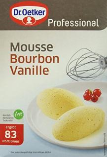 Dr. Oetker Mousse au Vanille 1 kg, 1er Pack (1 x 1 kg)