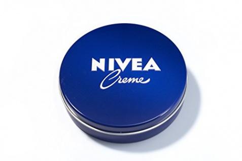 Nivea Creme Dose Universalpflege für jeden Hauttypen 75ml 3er Pack