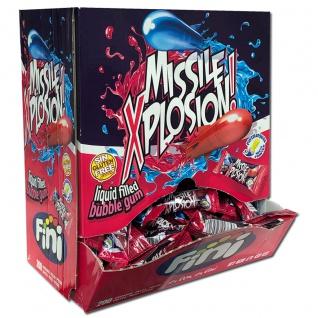 Boom Missile Explosion Bubble Gum mit Liquid 200 Stück im Display