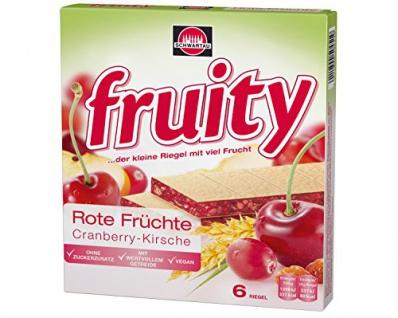 fruity Rote Früchte 144g 8er Pack