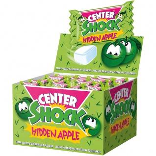 Center Shock Hidden Apple Kaugummi mit flüssigem Apfel Geschmack 400g