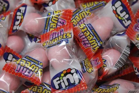 Bubble Gum Boom Kaugummi Erdbeer Sahne glutenfrei einzeln 5g