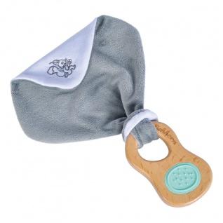 Eichhorn Baby Pure Greifling mit Schmusetuch Holzspielzeug für Babys