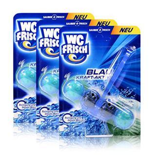 3x Henkel WC Frisch Blau Kraft Aktiv Ozean Frische für blaues Wasser