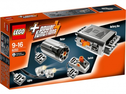 Lego Technic 8293 Power Functions Tuning-Set Motorisiere deine Modelle