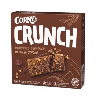 Corny Crunch Hafer und Schoko gebackene Müsliriegel 3x2er 120g