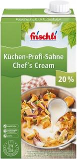 Frischli Küchensahne 20% optimal für Saucen und Desserts 1000g
