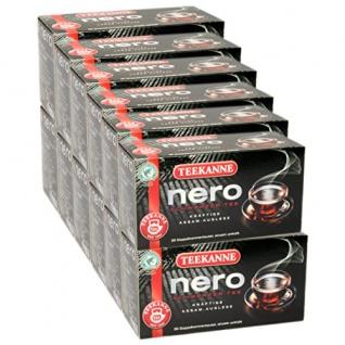 Teekanne Nero Schwarzer Tee kräftige Assam Auslese Stark 12er Pack