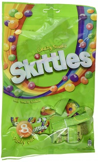 Skittles Party Pack Crazy Sours, 12er Pack