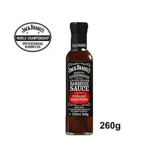 Jack Daniel's Hot Chilli BBQ Sauce 260g