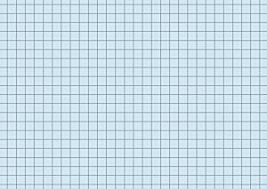 Karteikarten A6 blau kariert