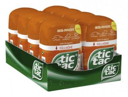 tic tac fresh orange Ferrero erfrischende Orangen Dragees Big Pack 98g