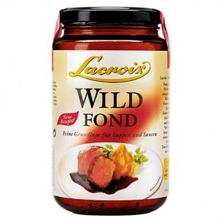 Lacroix Wild Fond für Wildgerichte wie Hirsch Fasan und Rehrücken 400ml 6er Pack