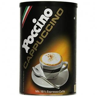 Poccino Cappuccino Kaffee Pulver mit geröstete Aromen 400g 2er Pack