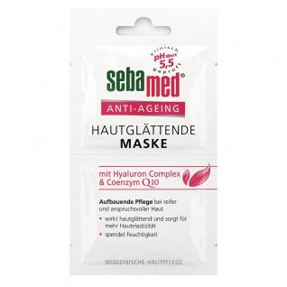 Sebamed Hautglättende Maske Anti Agein mit Hyaluron Complex 2x5ml
