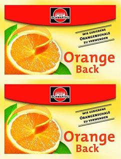 Dr. Oetker Orange Back Orangenschalen Aroma Schwartau 10g 12er Pack