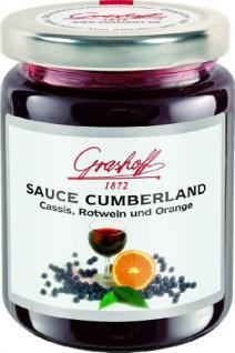 Grashoff Cumberlandsauce, 200 ml, 3er Pack (3 x 200 ml)