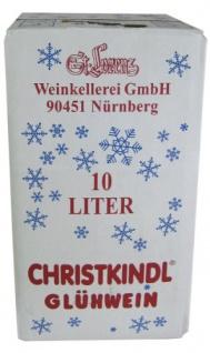 St Lorenz Nürnberger Christkindl Glühwein Premiumqualität 10000ml