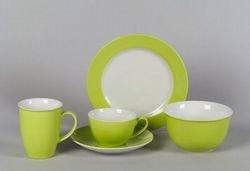 Ritzenhoff und Breker zeitloser Kaffeebecher Serie Doppio Farbe grün
