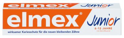 Elmex Junior Zahncreme 75ml