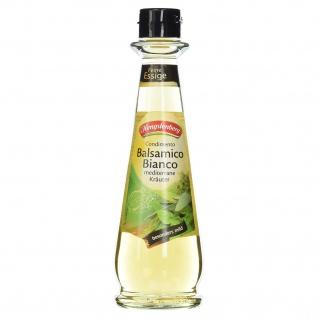 Condimento Balsamico Bianco mediterrane Kräuter 250 ml Flasche