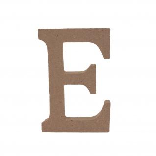 Bastelbuchstabe E Holzbuchstabe zum basteln Buchstabe aus Holz