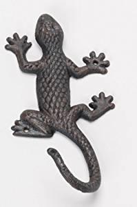Salamander Gusseisen braun Wandhaken