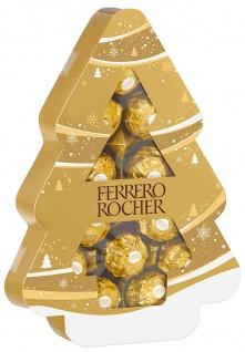 Ferrero Rocher Tanne einzelne Pralinen aus Milchschokolade 150g