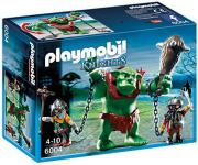 PLAYMOBIL Knights Giant Troll with Dwarf Fighters, 6004