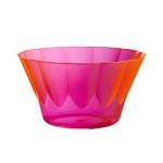 """54 Eis- und Dessertbecher, PS rund 400 ml Ø 12 cm · 7 cm pink rosa """" Royal"""" Eisbecher Eisschalen"""