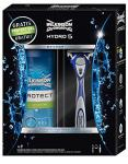 Wilkinson Sword Hydro 5 Geschenkset mit Rasierapparat und 200 ml Protect Sensitive Rasiergel