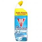 00 null null WC Aktiv-Gel 3in1, WC-Hygienereiniger, Cool c, 4er Pack (4 x 750 ml)