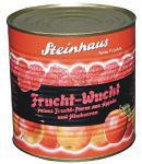 Steinhaus Frucht-Wucht Himbeer Apfel Püree, 1er Pack (1 x 2650 ml)
