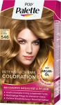 Poly Palette Intensiv-Creme-Coloration, 546 Caramel Goldblond, 3er Pack (3 x 1 Stück)