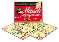 Schmidt Spiele 49020 - Mensch ärgere dich nicht Jubiläumsausgabe mit Holzsteinen