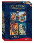 Noris Spiele 606038021 - Quattro Puzzle Deluxe - Vogel der Weisheit, 800 Teile