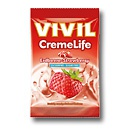 Vivil Creme Life Classic Erdbeer Bonbons Geschmack ohne Zucker 110g